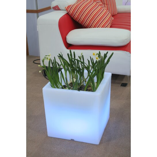 LED Blumenkübel Quader