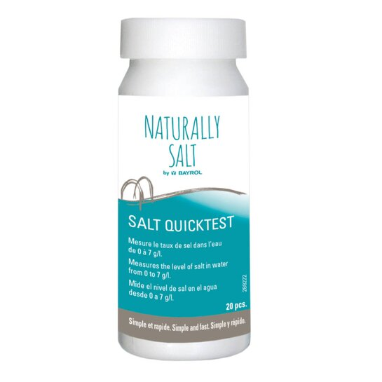 Bayrol Quicktest Naturally Salt