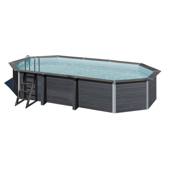 COMPOSITE Pool Oval 664 x 386 x 124 cm