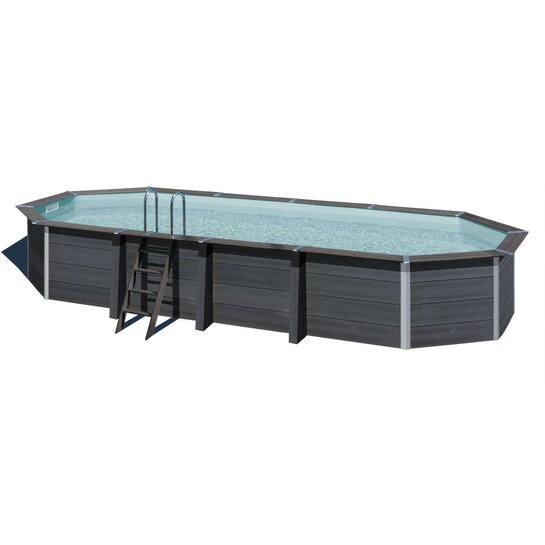 COMPOSITE Pool Oval 804 x 386 x 124 cm